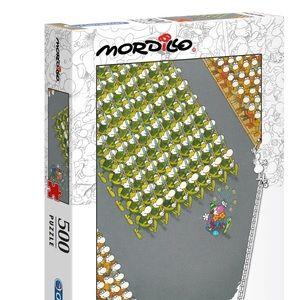 BRAND NEW Clementoni Mordillo 500 pc Puzzle